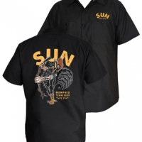 Steady Clothing Sun Singing Rooster workshirt