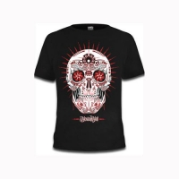 Peyote Loco - sort t-shirt med mexicansk tryk